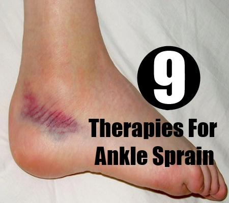 Therapies For Ankle Sprain