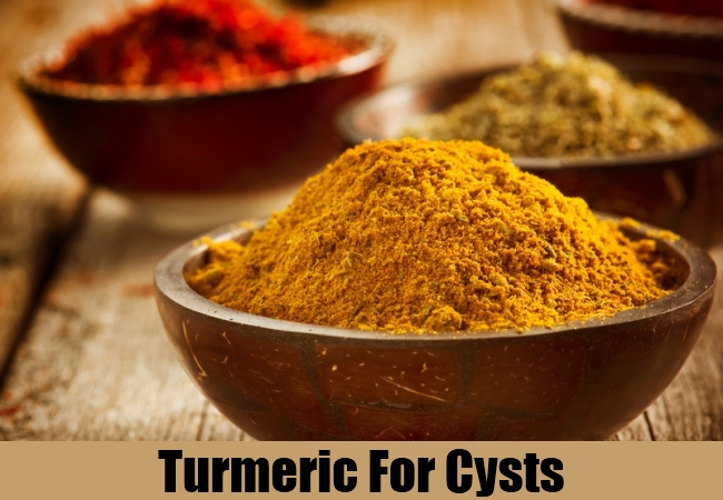 Turmeric For Cysts