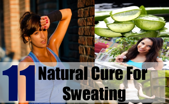 11 Natural Cure For Sweating