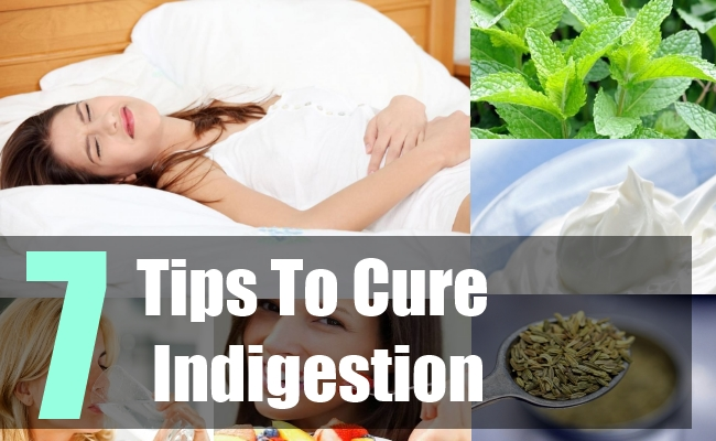 7 Tips To Cure Indigestion