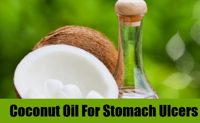 Coconut Oil For Stomach Ulcers