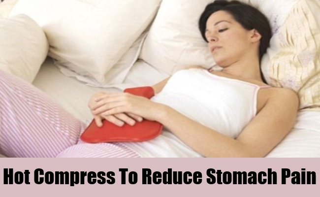 Hot Compress To Reduce Stomach Pain