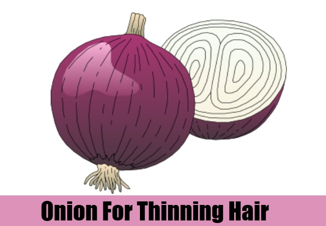 Onion For Thinning Hair