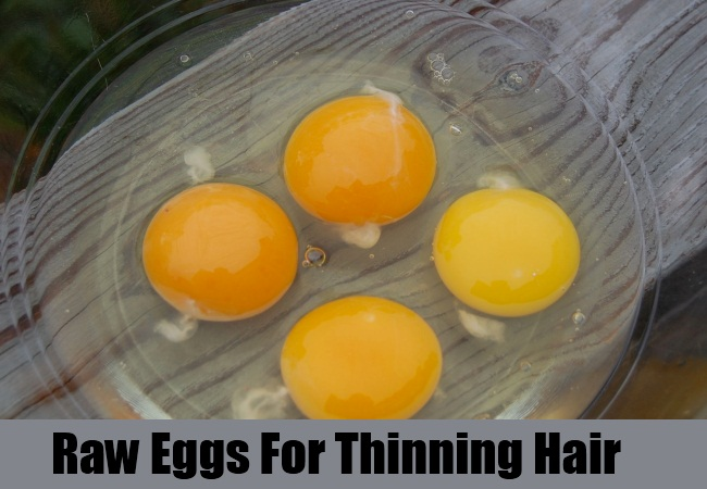 Raw Eggs For Thinning Hair