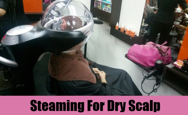 Steaming For Dry Scalp