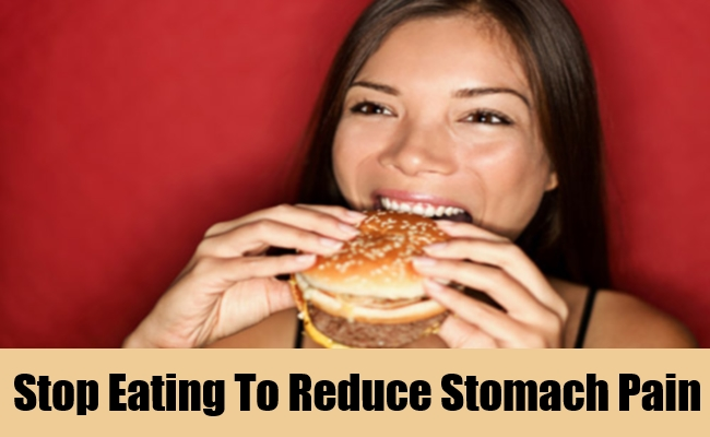 Stop Eating To Reduce Stomach Pain