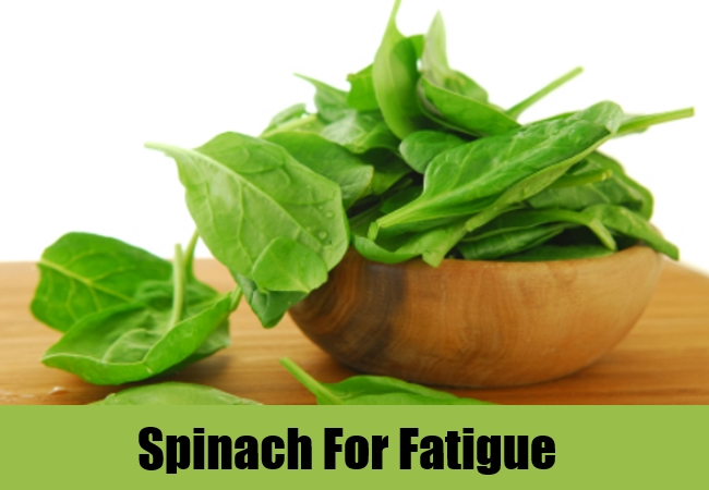 Spinach For Fatigue