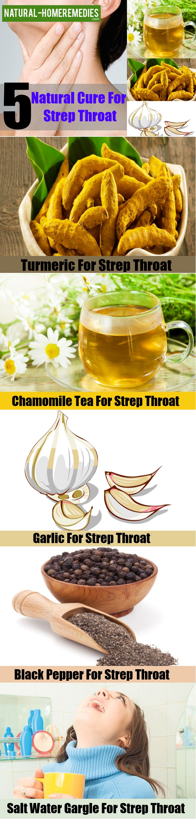Natural Cure For Strep Throat