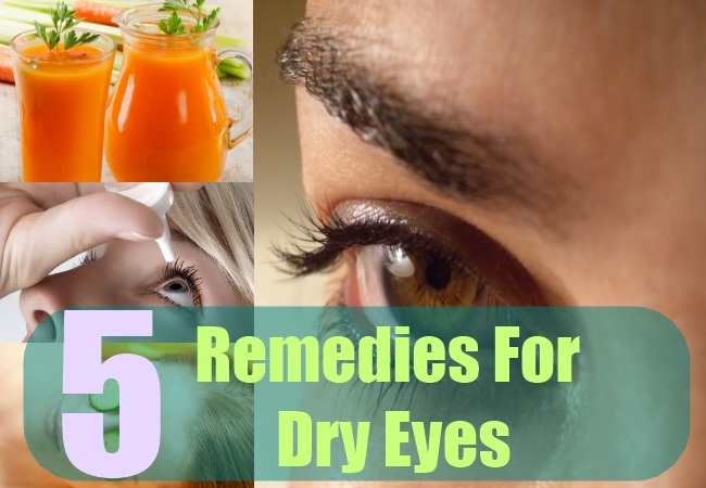 5 Remedies For Dry Eyes