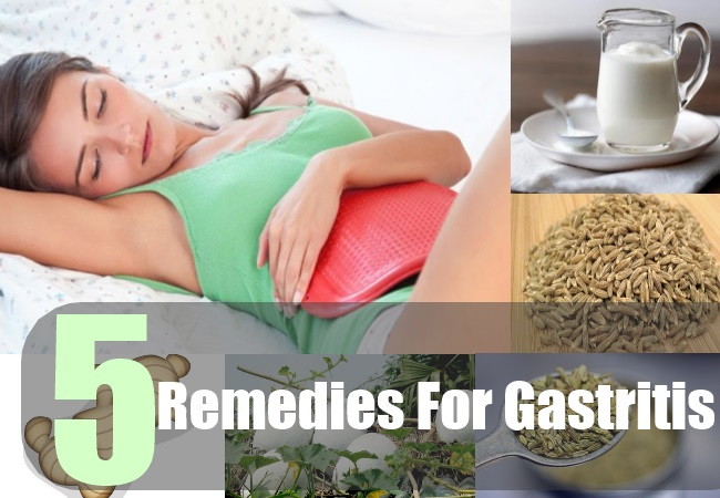 5 Home Remedies For Gastritis