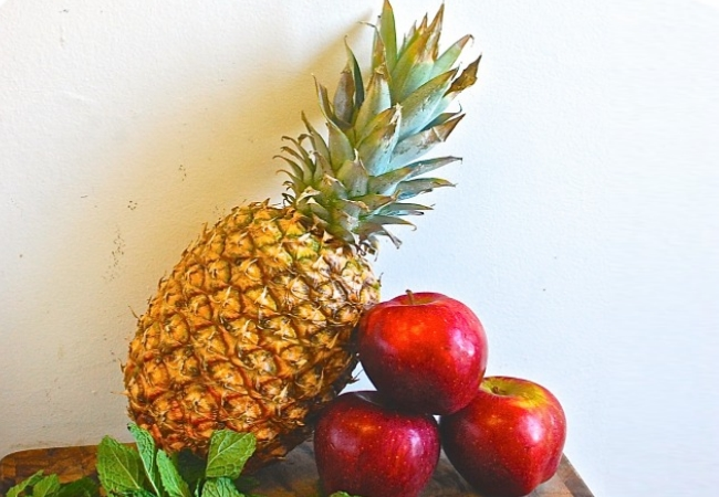 Apple and Pineapple