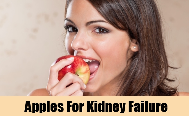 Apples For Kidney Failure