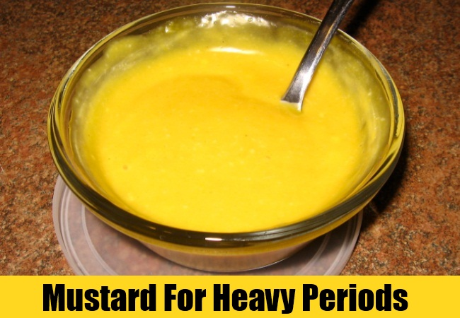 Mustard For Heavy Periods