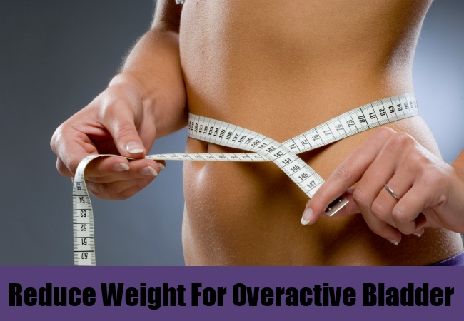 Reduce Your Weight For Overactive Bladder
