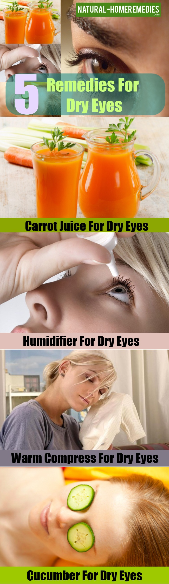 Remedies For Dry Eyes