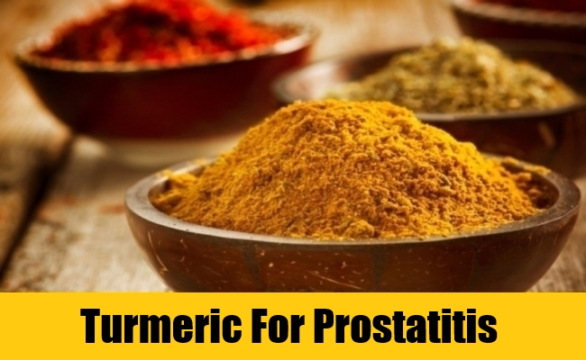 Turmeric For Prostatitis
