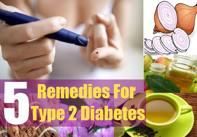 5 Remedies For Type 2 Diabetes