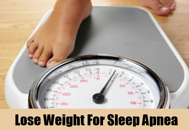 Lose Weight For Sleep Apnea