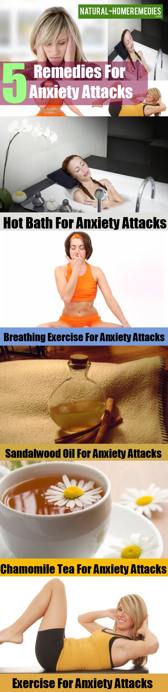 Remedies For Anxiety Attacks