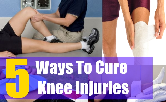 5 Ways To Cure Common Knee Injuries