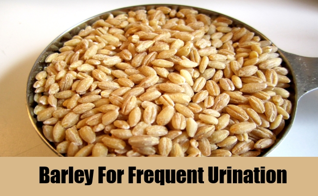Barley For Frequent Urination