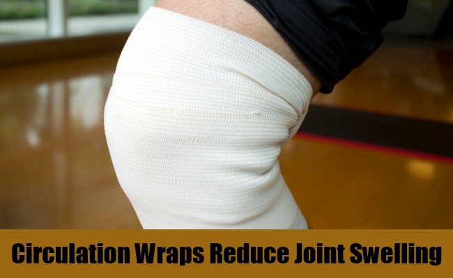 Circulation Wraps Reduce Joint Swelling