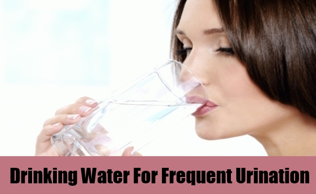 Drinking Water For Frequent Urination