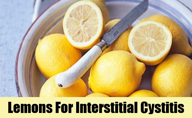 Lemons For Interstitial Cystitis