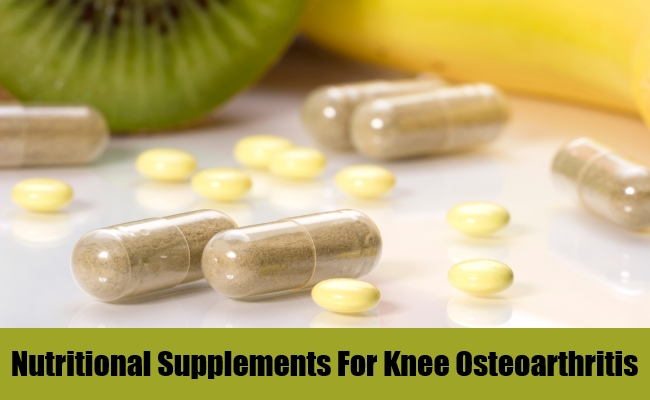 Nutritional Supplements For Knee Osteoarthritis