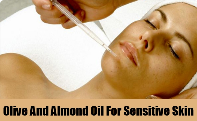 Olive And Almond Oil For Sensitive Skin