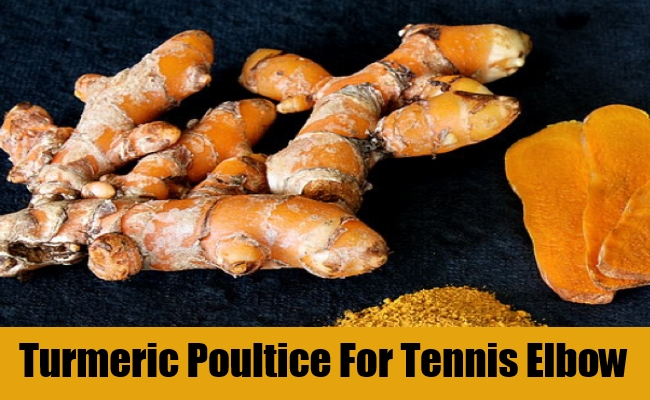 Turmeric Poultice For Tennis Elbow