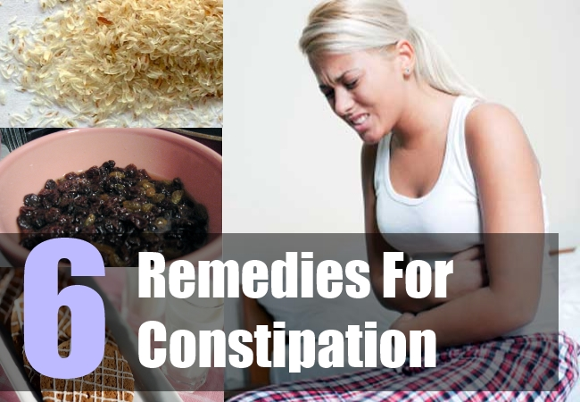 6 Remedies For Constipation