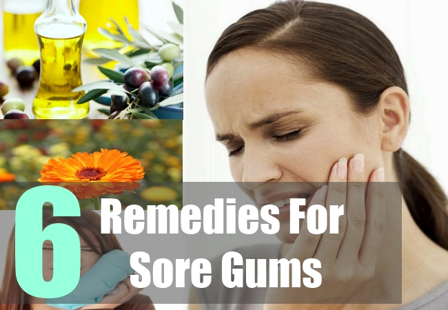 Top 6 Sore Gums Home Remedies