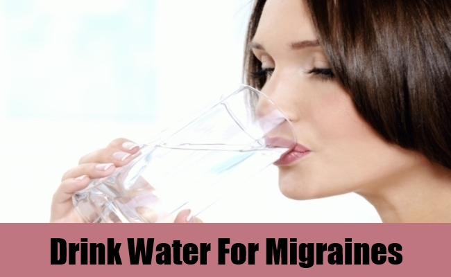 Drink Water For Migraines