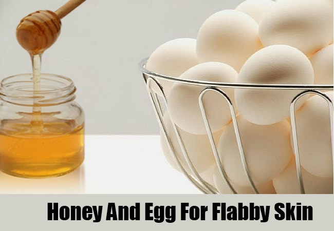 Honey And Egg White Mix