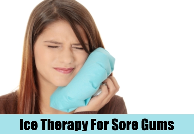 Ice Therapy For Sore Gums