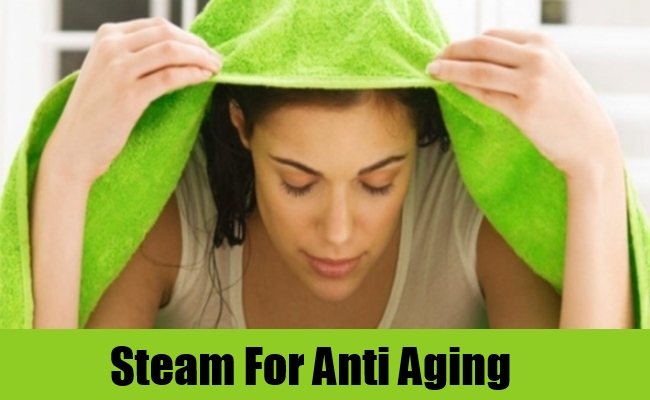 Steam For Anti Aging