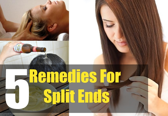 5 Remedies For Split Ends