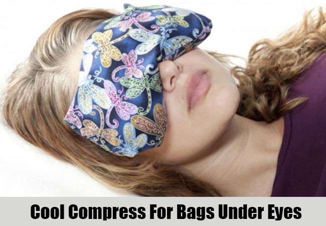 Cool Compress For Bags Under Eyes