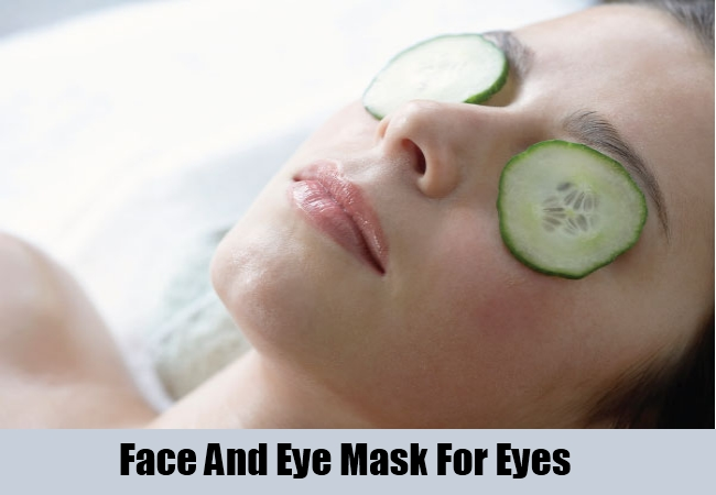 Face And Eye Mask For Eyes
