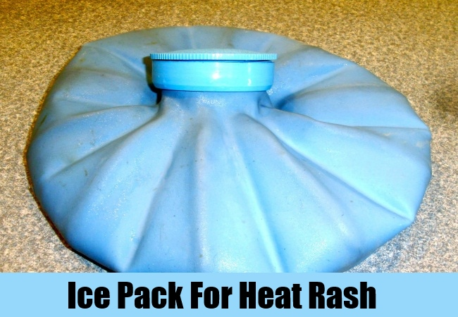 Ice Pack For Heat Rash