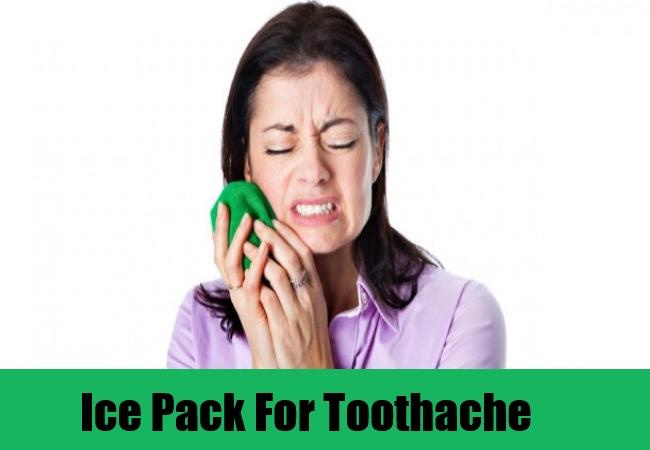 Ice Pack For Toothache
