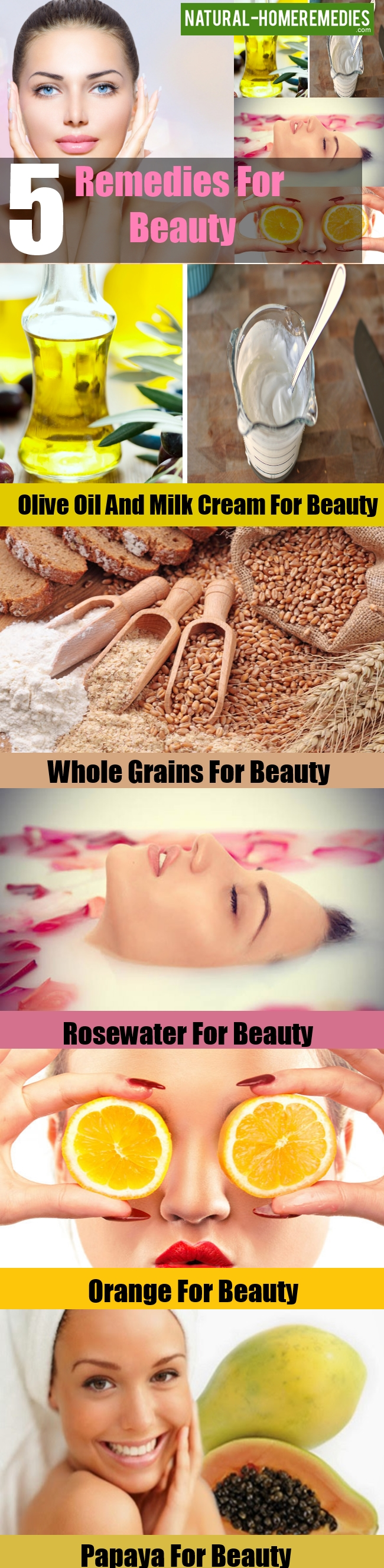 Remedies For Beauty