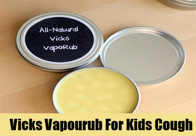 Vicks Vapourub For Kids Cough
