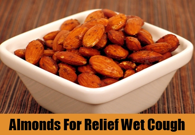Almonds For Relief Wet Cough