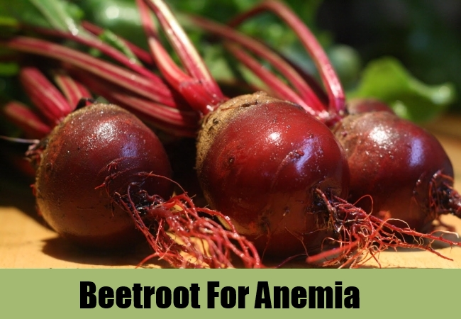 Beetroot For Anemia