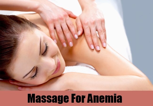 Massage For Anemia