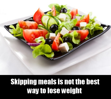 Avoid missing meals.