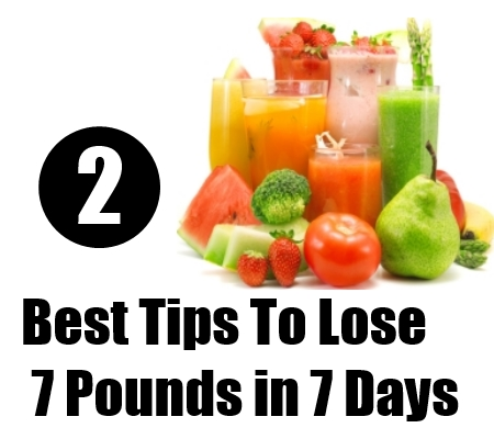 Lose 7 Pounds in 7 Days