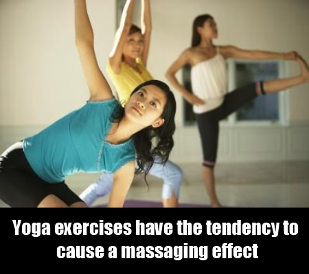 Do yoga exercises